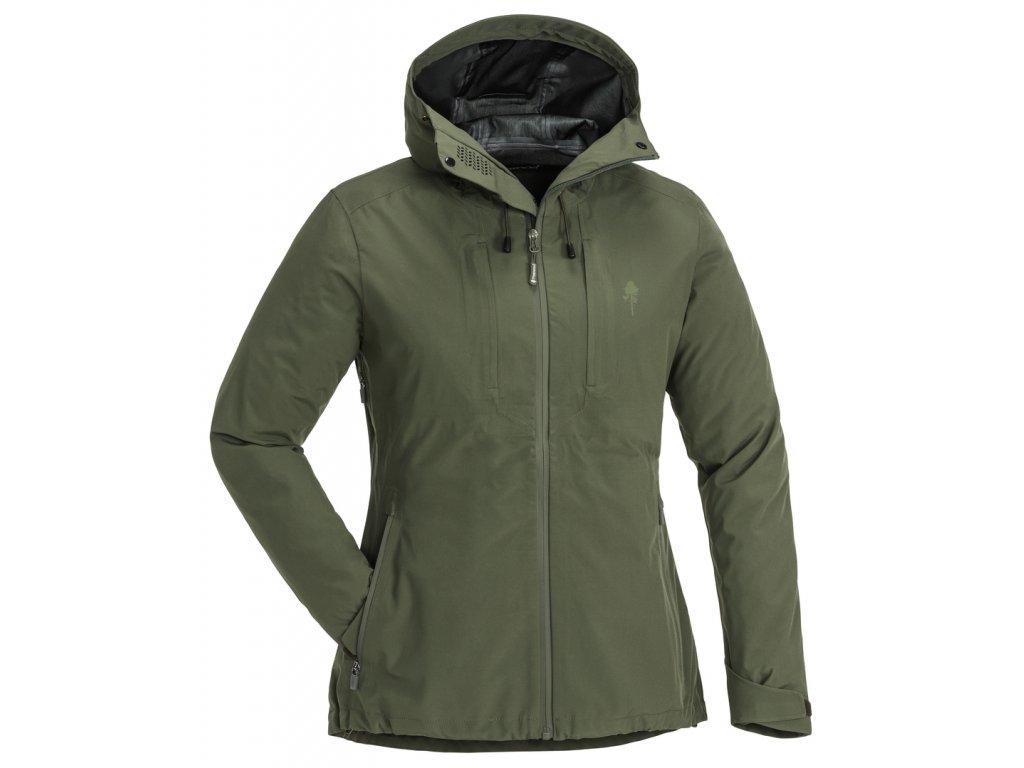 3213 135 01 pinewood womens jacket telluz mossgreen