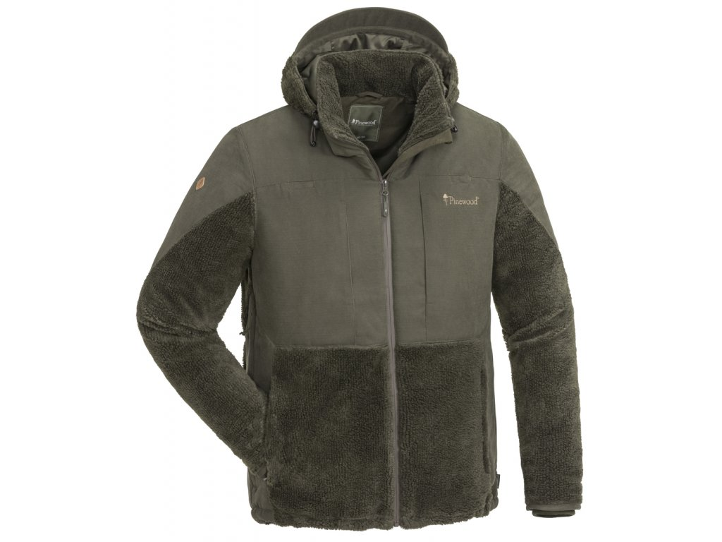 5903 241 01 pinewood jacket esbo pile suede brown