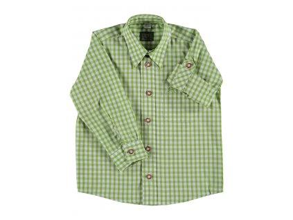 Dětská košile zelená