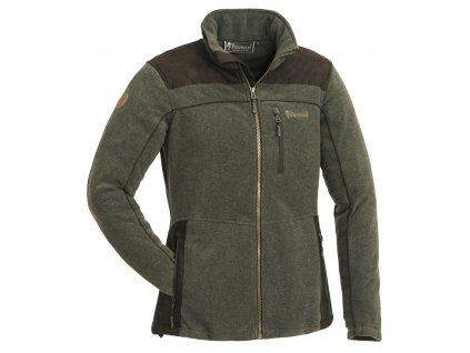 3067 702 fleece jacket diana exclusive ladies olive mel suede brown
