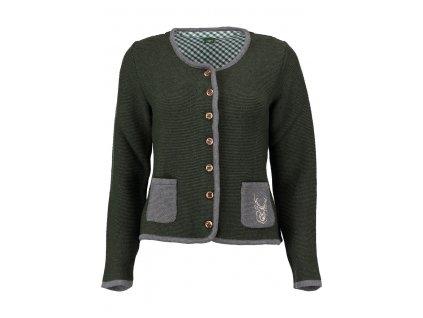Pletený dámský kabátek Jelen