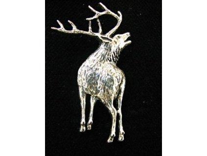Lovecký odznak Troubící jelen
