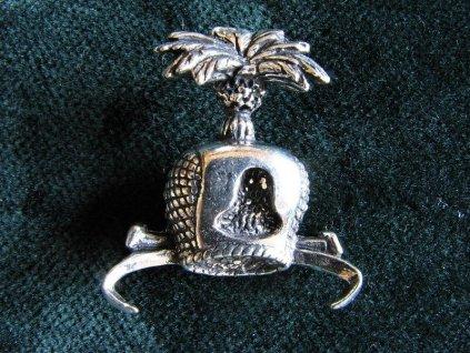 Sokolnický odznak Čepička na dravce