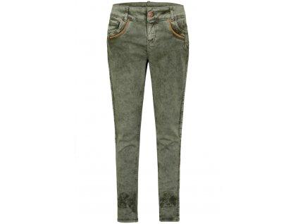 Dámské horalské kalhoty zelené