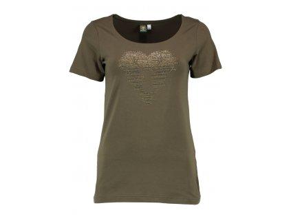 Dámské tričko s jelenem 4XL+