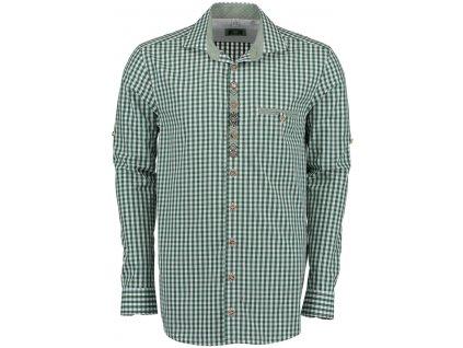 Horalská košile zelená