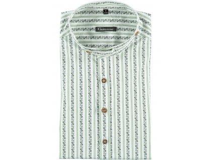 Košile vzorovaná se stojáčkem