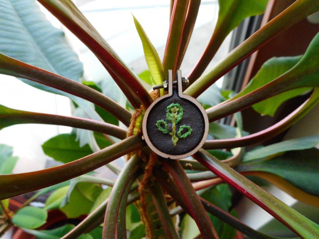 Malý přívěšek 1 kytka na kytce