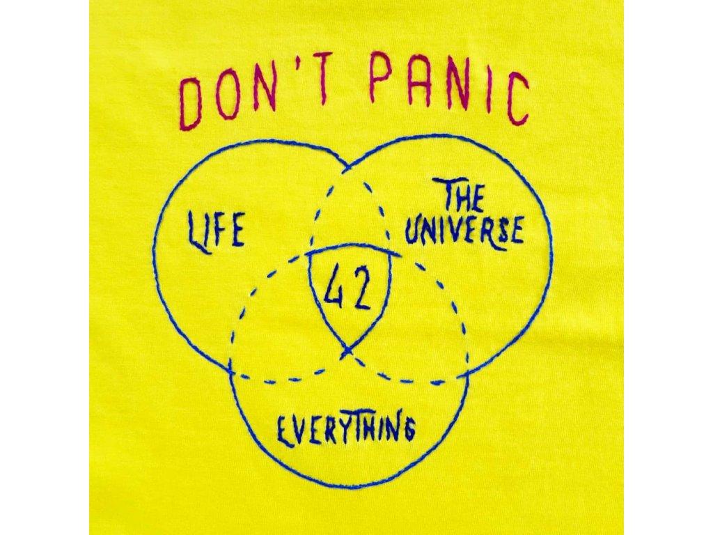 Dont panic detail