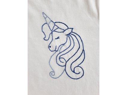Tričko Jednorožec detail