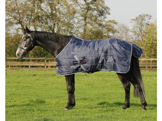 Stájová nylonová deka 300 gr Dark Blue