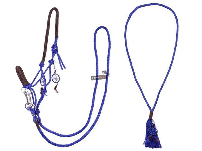 Provazový set QHP Liberty Cobalt blue