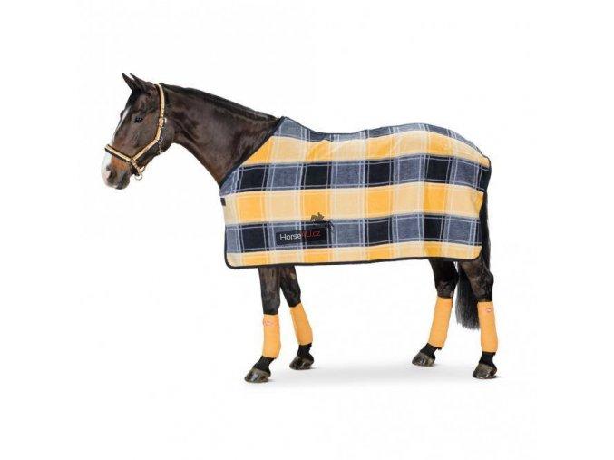 Fleecová deka DRALON mango