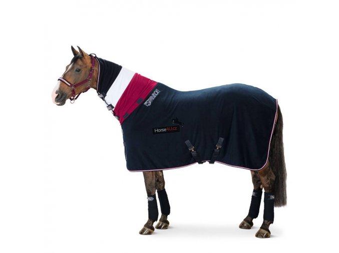 Odpocovací deka Double Fleece s krčním dílem