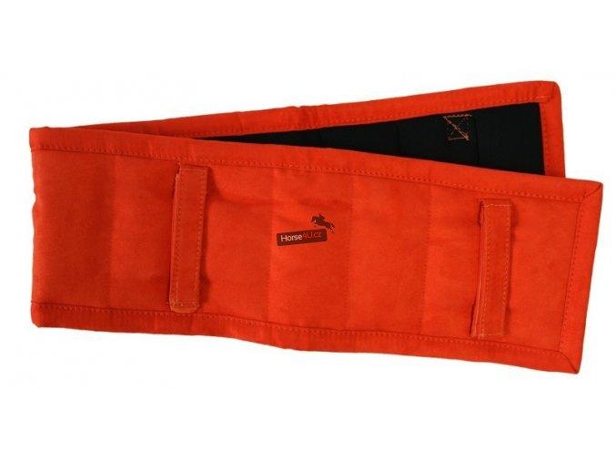 Dečka pod lonžovací obřišník QHP Orange