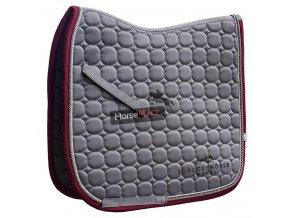 Schockemoehle Sports Schabracke Sanya Style Dressur graphite 101 01267