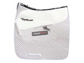 7055 White Dressage Cotton Comfort Pad