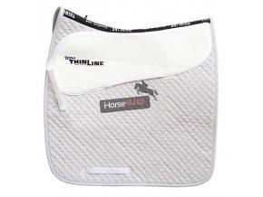 7055 White Dressage Cotton Comfort Pad
