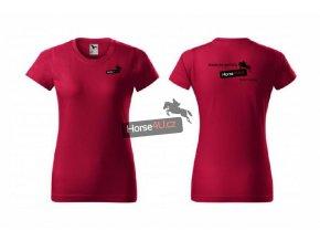 Dámské tričko BASIC Marlboro červené