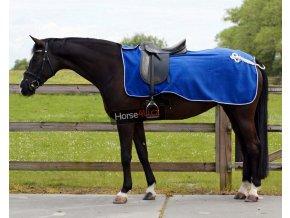 Bederní deka QHP Ornament Blue