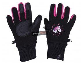 Zimní rukavice QHP Fresco Black