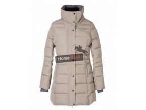 Dámský jezdecký kabát Pfiff Capuc Béžový