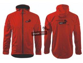 Pánská softshellová bunda COOL Červená