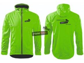 Pánská softshellová bunda COOL Zelené jablko