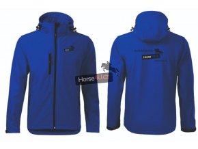 Pánská softshellová bunda Performance Královsky modrá