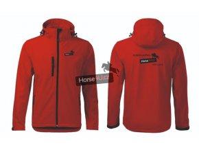 Pánská softshellová bunda Performance Červená