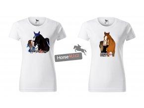 Dámské tričko Horse4U s vlastním motivem
