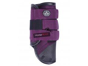 Crossové chrániče přední Technical  Purple