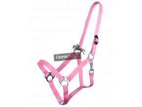 Ohlávka QHP Flamingo pink