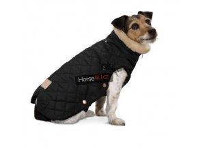 Obleček pro psa Eskadron GLOSSY QUILTED Black