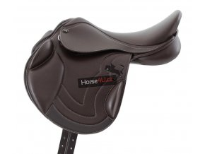 SS20 Bordeux Synthetic Monoflap Cross Country Saddle Brown Side Shot 72 RBG