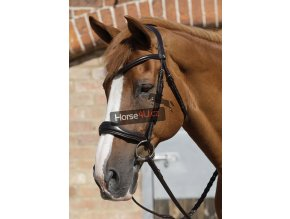 SS19 Verdura Anatomic Snaffle Bridle Brown Close Up RGB 72 zoom