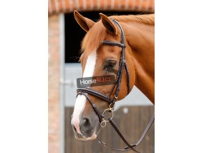 9 Delizioso Snaffle Bridle Path Brown Webx900