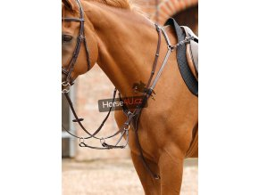 Norbello Hunter Breastplate Brown Web zoom
