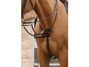 Santadi Adjustable Running Martingale Black RGBx900