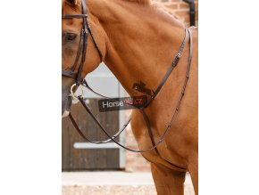 Gressan Standing Martingale Brown Horse Webx900