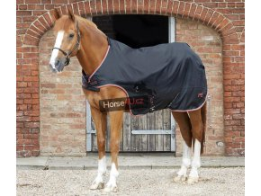 AW20 Horse Walker Rug 100g Black Main Image 72 RGB zoom