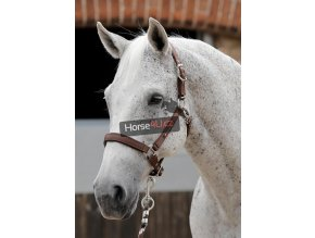 SS19 Plain Padded Head Collar Brown Main Image RGB 72 zoom