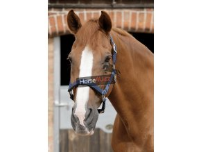 SS19 Plain Padded Head Collar Navy Main Image RGB 72 zoom