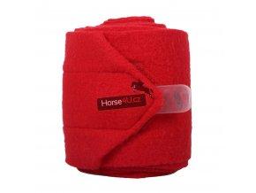 Fleecové bandáže QHP Bright Red