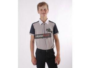 Chlapecké závodní triko Kyle Junior