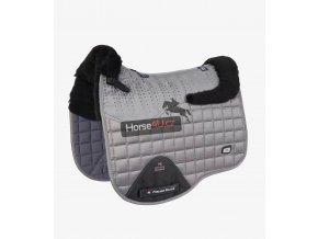 Capella CC Merino Wool Dressage Square Grey Black Wool 1 1024x