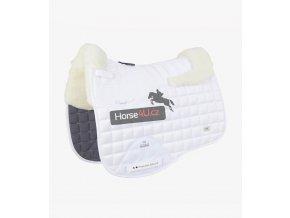 Capella CC Merino Wool Dressage Square White Natural 1 768x