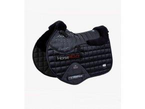 Capella Wool GPJump Saddle Pad Black 1 768x