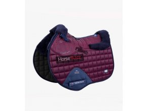 Capella Wool GPJump Saddle Pad Burgundy 1 768x