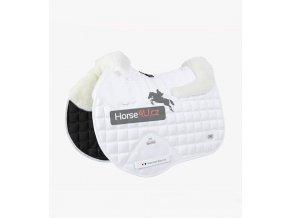 Capella Wool GPJump Saddle Pad White 1 768x